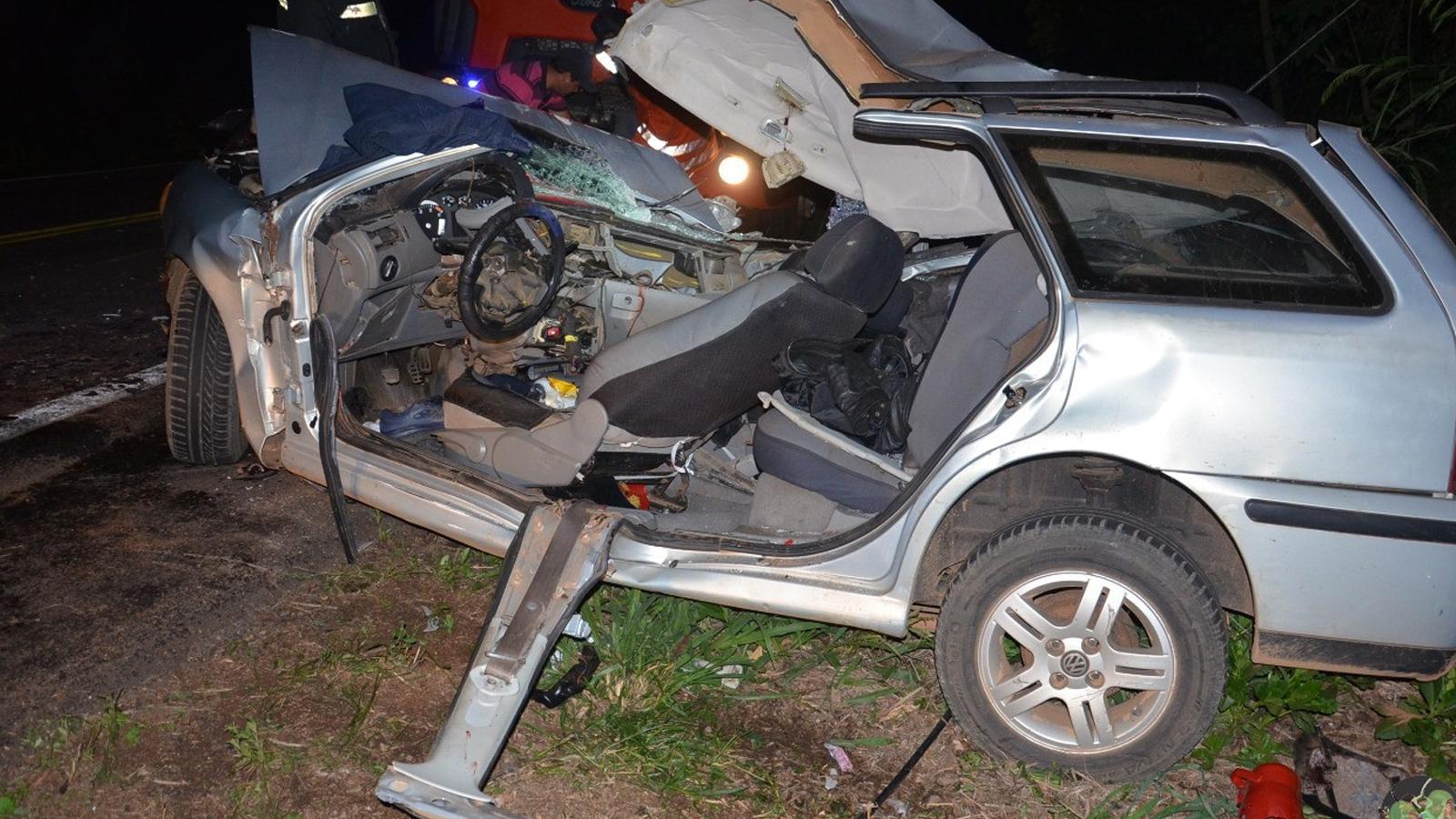 Acidente deixa motorista gravemente ferido na ERS-404 em Rondinha