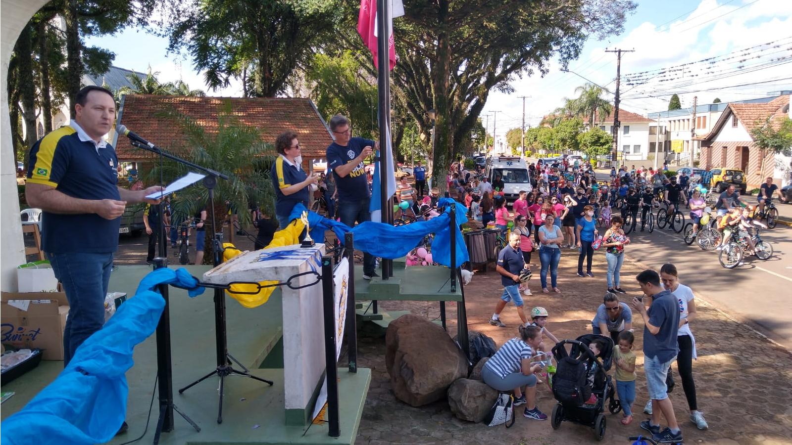 Rotary reúne 180 participantes na 25ª edição do Passeio Ciclístico