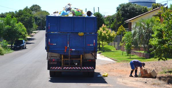 Onde colocar o lixo produzido