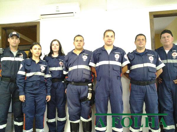 Voluntários estiveram em Santa Maria