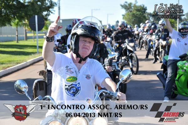Motociclistas da Aremo/RS realizam seu primeiro encontro regional