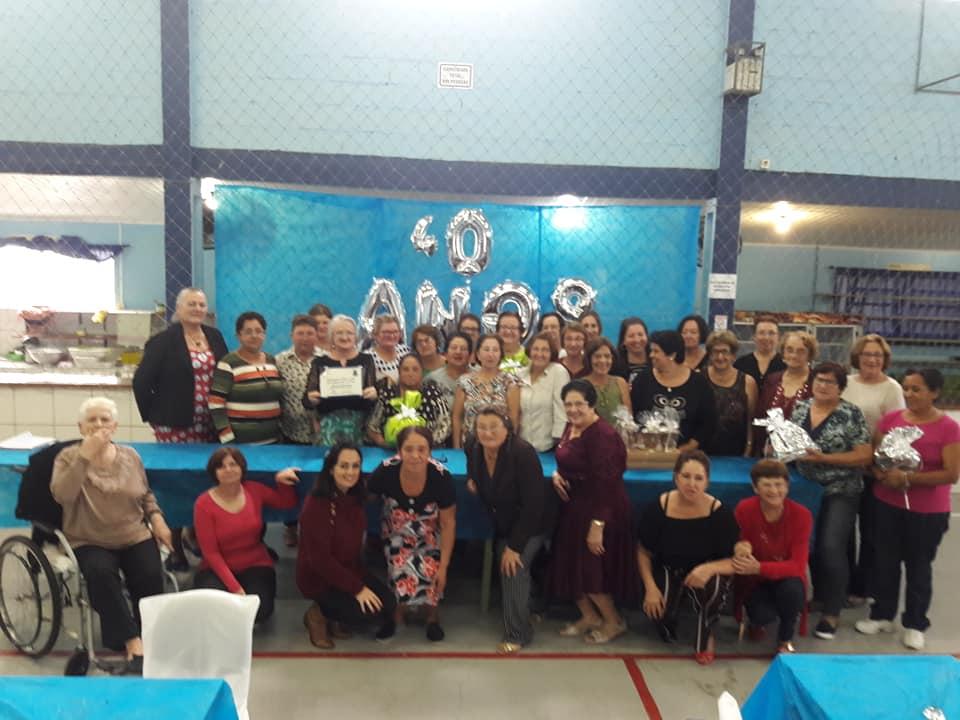 Clube de Mães Santo Antônio completa 40 anos de história