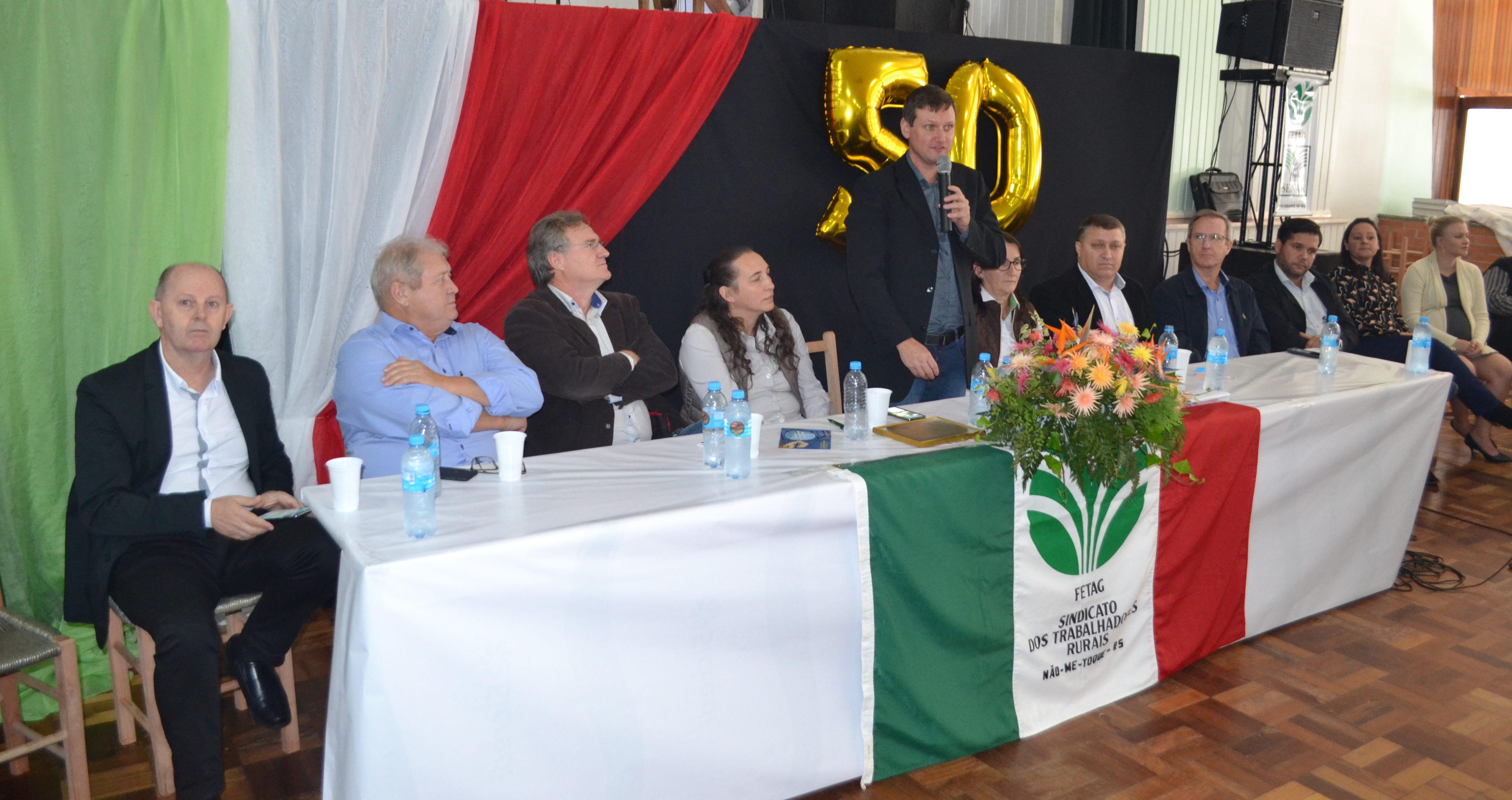 Trabalhadores rurais comemoram 50 anos de história