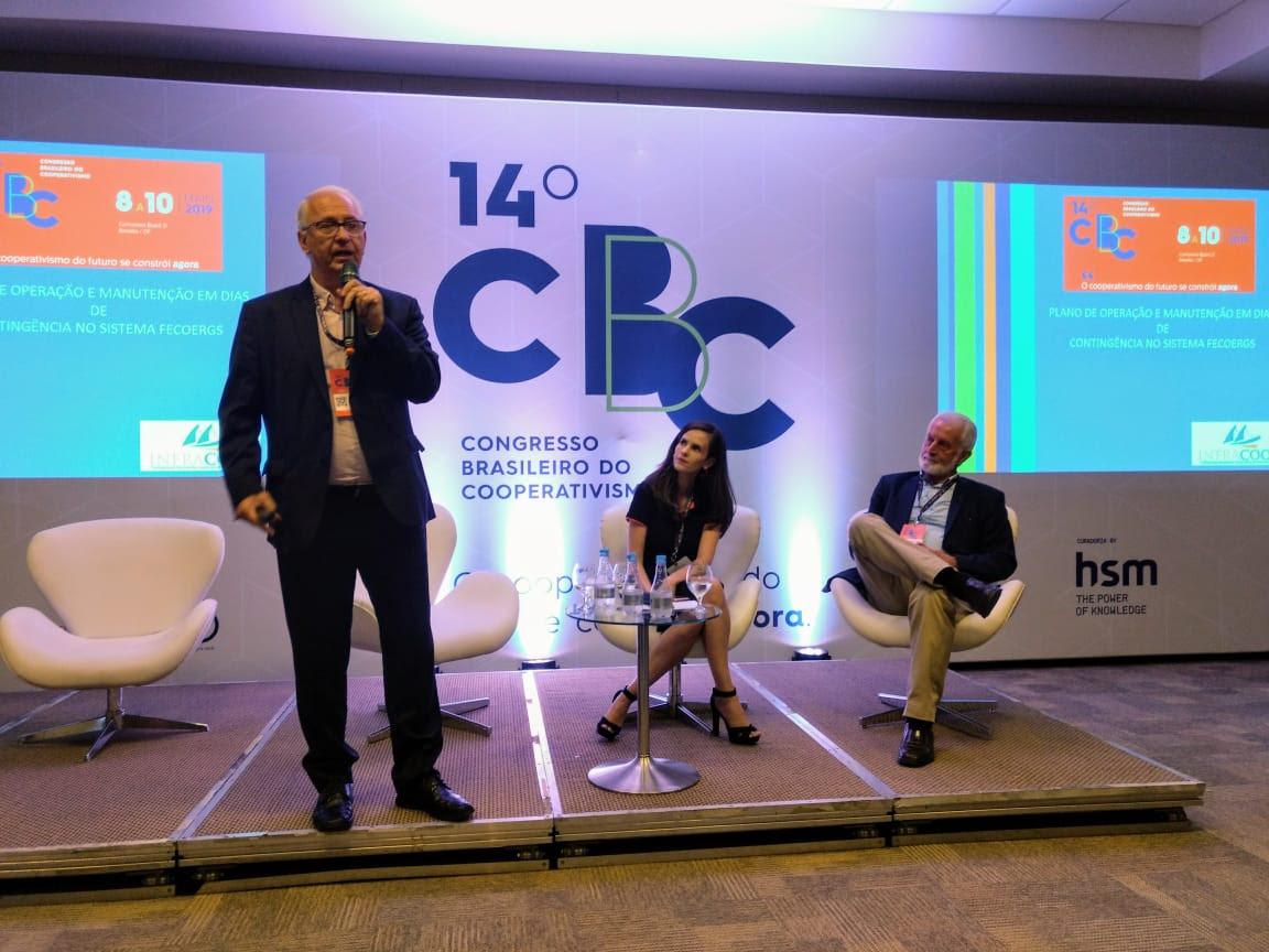 Stefanello apresenta Case de Intercooperação no Congresso Brasileiro do Cooperativismo