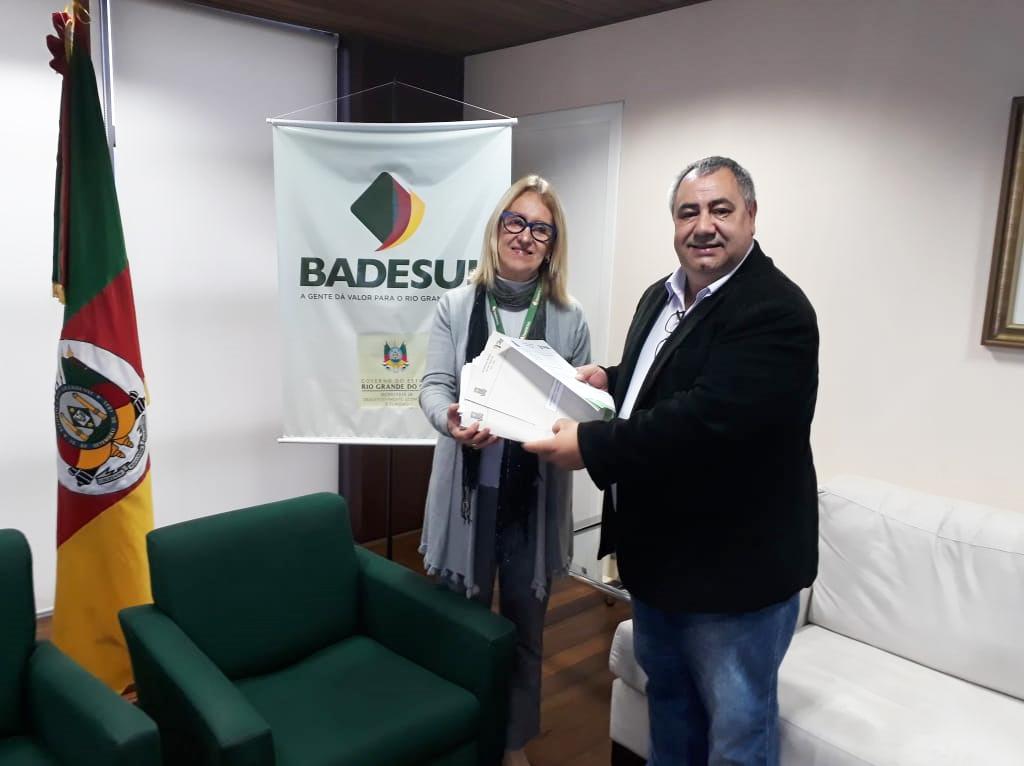 Administração encaminha no Badesul projeto para pavimentação de 23 ruas