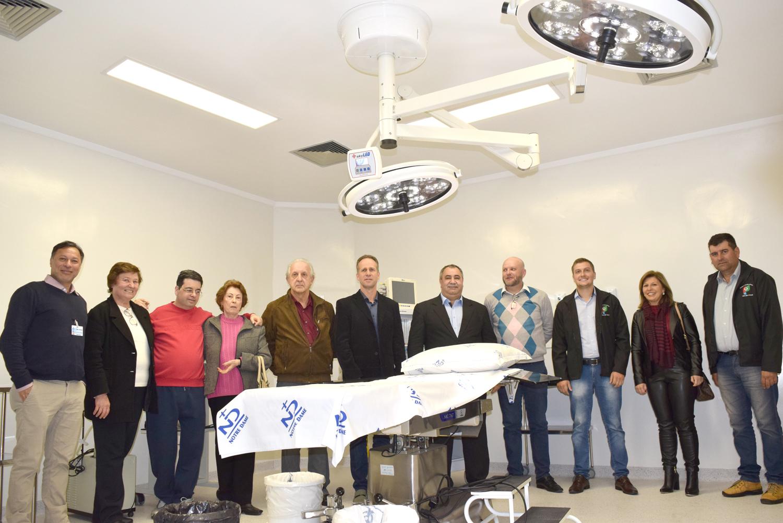 Hospital Santa Júlia inaugura Centro Cirúrgico Dr. Armando Brito Wagner