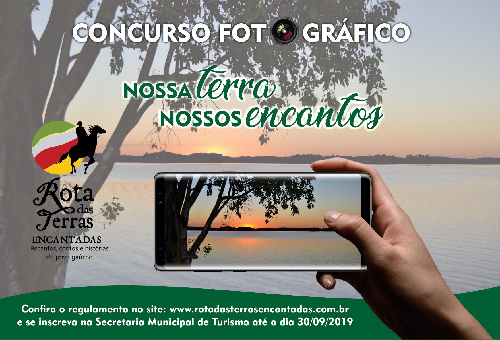 """Inscrições para o Concurso fotográfico """"Nossa Terra, Nossos Encantos"""" encerram hoje"""