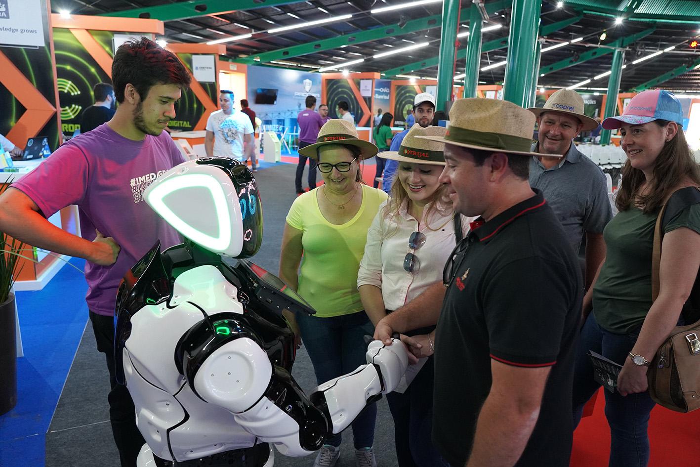 Arena Agrodigital: tecnologias que impressionam