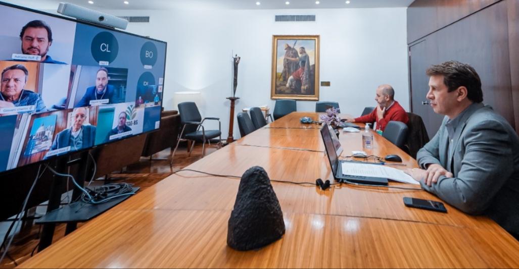 Lideranças gaúchas tratam da competitividade em tempos de pandemia