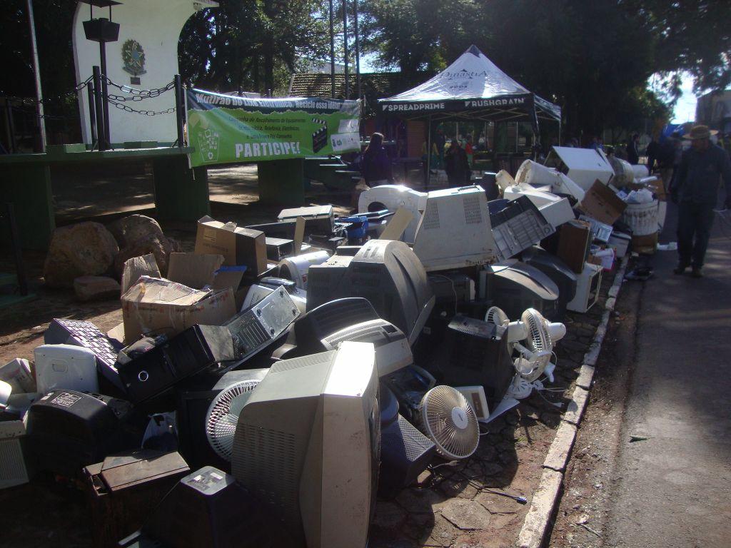 Não-Me-Toque: Recolhimento de Lixo Eletroeletrônico será dia 4 de Julho