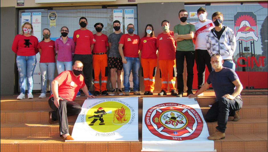 Associação dos Bombeiros Voluntários de Não-Me-Toque elege nova diretoria