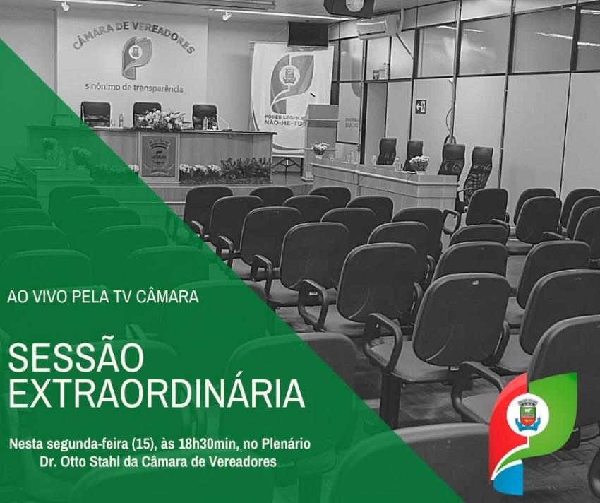 Presidente convoca Vereadores de Não-Me-Toque para Sessão Extraordinária nesta segunda-feira (15)