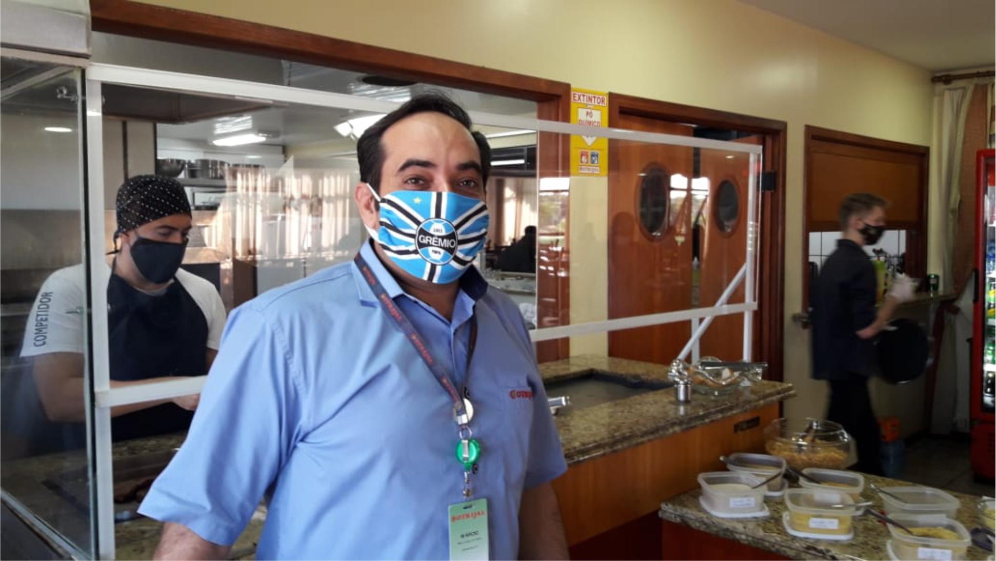 Um jeito leve de usar a máscara