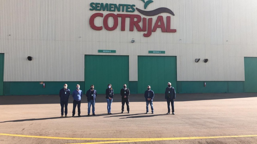 Conselho Fiscal visita a Unidade de Beneficiamento de Sementes da Cotrijal