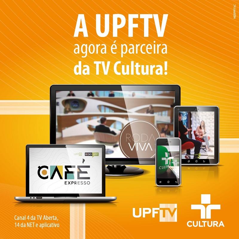 UPFTV transmitirá a programação da TV Cultura