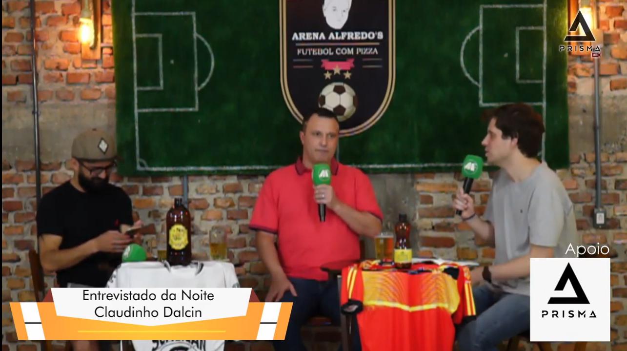 Goleiro Claudinho entrevistado do Arena Alfredo´s