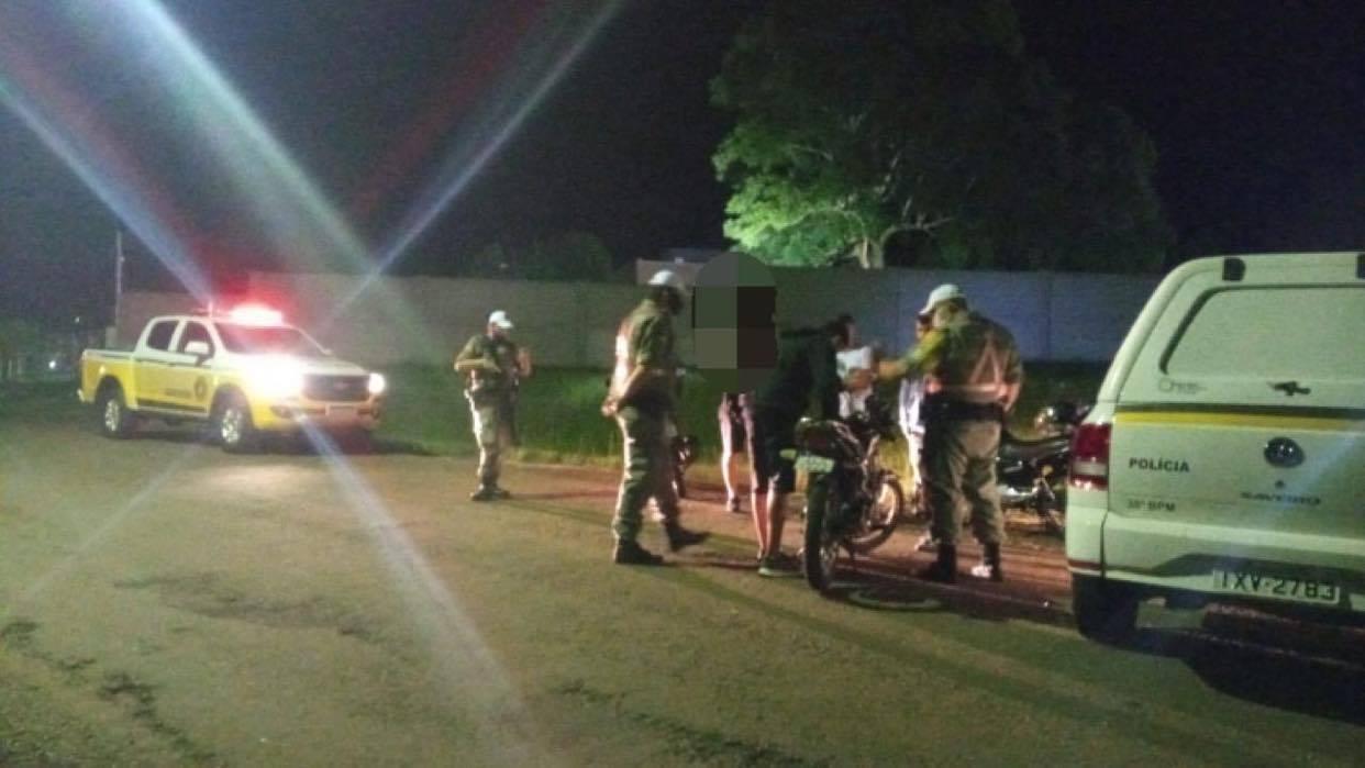 Racha de motos e apreensão de maconha são registrados pela Brigada Militar de Não-Me-Toque