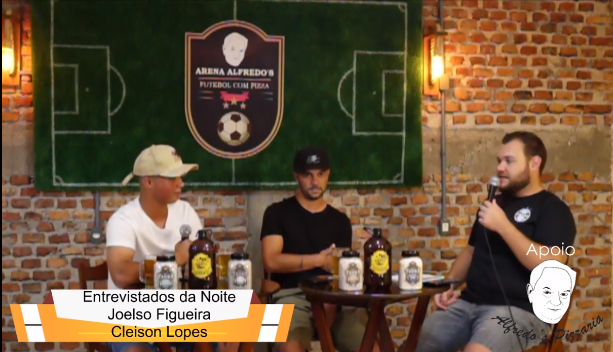 Joelso Figueira e Cleiso Lopes na Alena Alfredo's