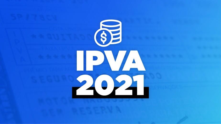 Última placa do IPVA 2021, com final zero, vence nesta segunda, dia 26