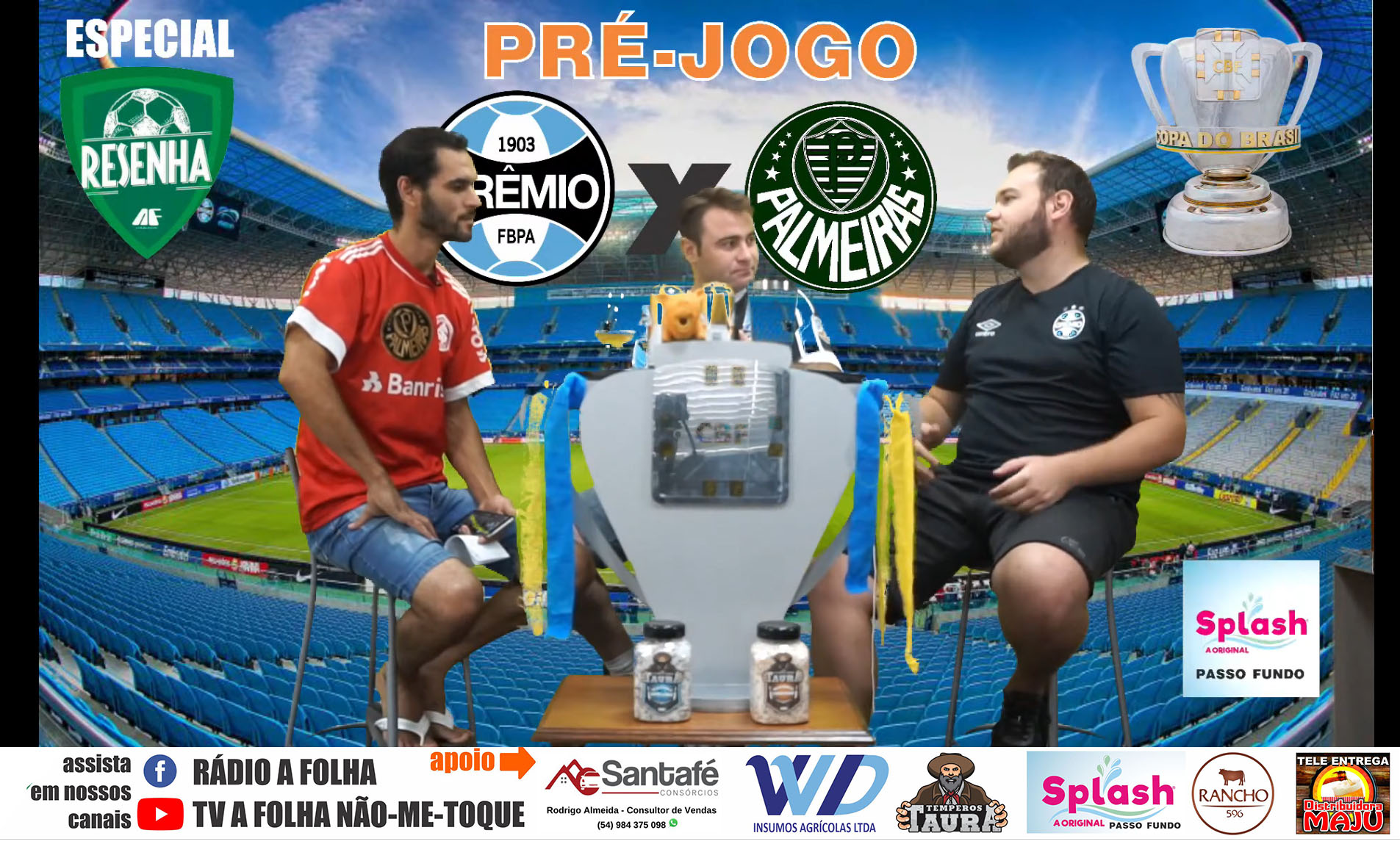Pré-Jogo Resenha especial: Grêmio x Palmeiras