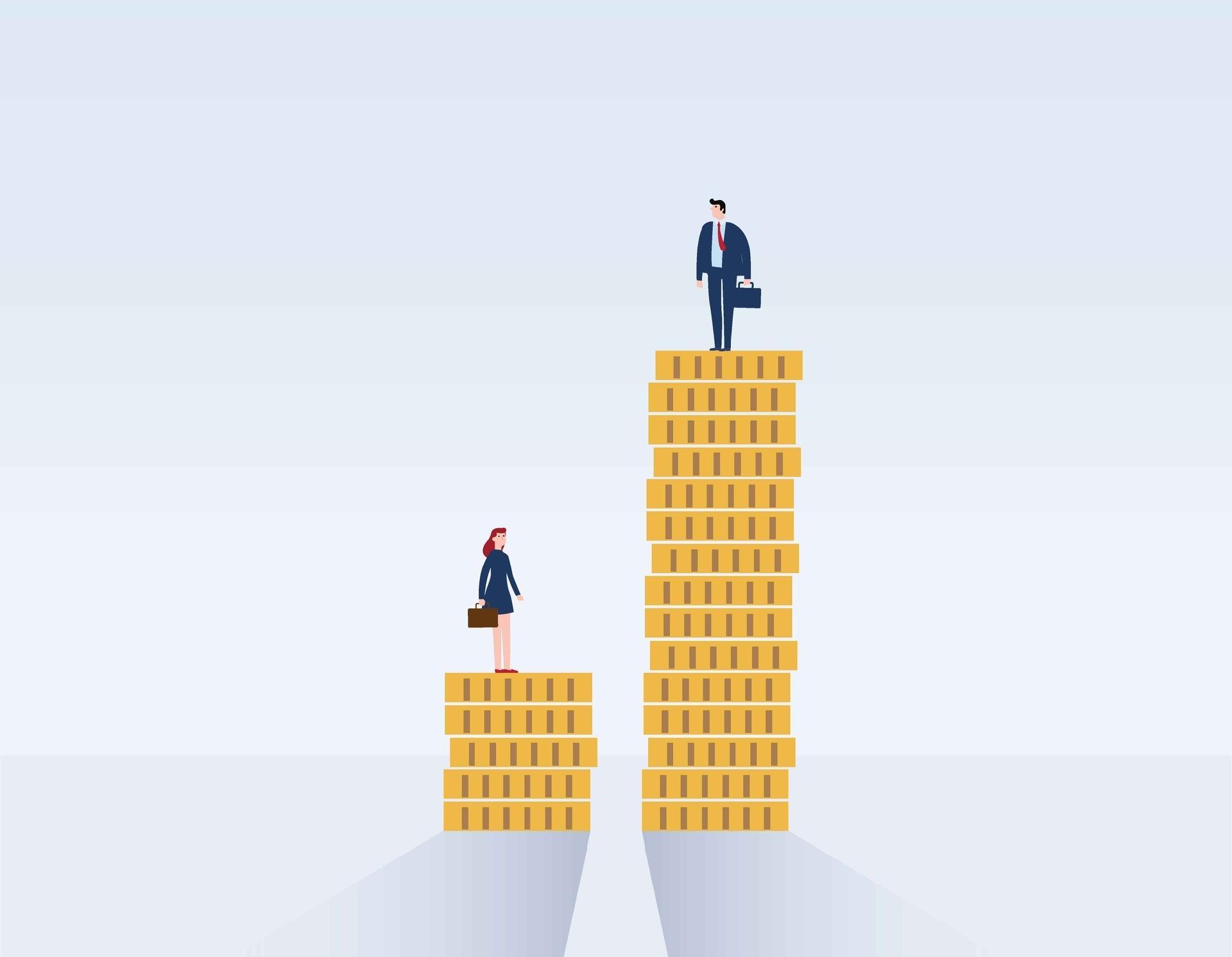 Pandemia aumenta diferença salarial entre homens e mulheres no RS