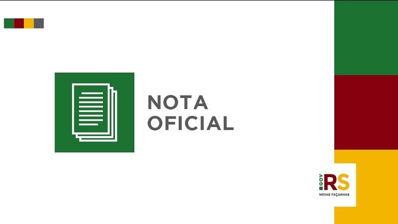 Governo do Rio Grande do Sul esclarece informações sobre aulas presenciais