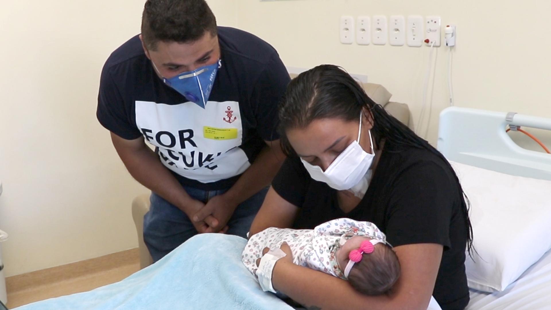 A coragem de uma mãe em meio a pandemia