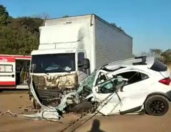 Grave acidente deixa um morto na ERS-404 em Sarandi