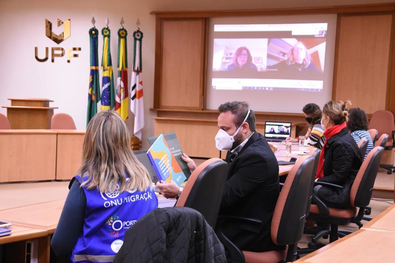 UPF e Organização Internacional para Migrações da ONU debatem possibilidade de parceria