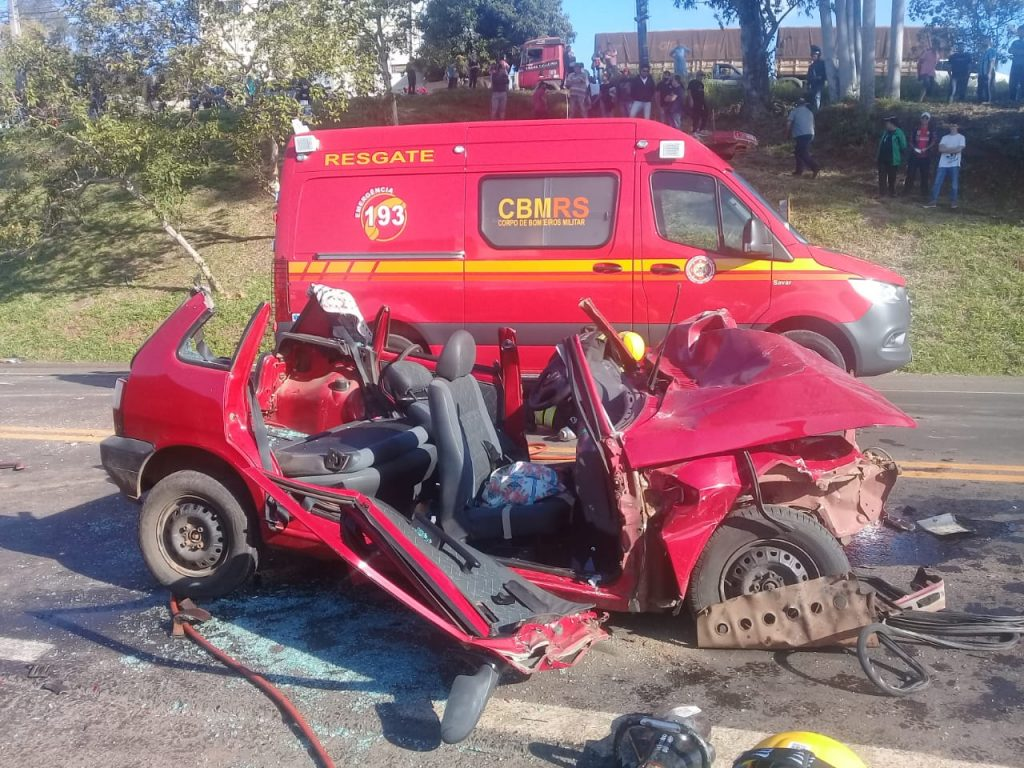 Depois de gravar vídeo dizendo que iria tirar a própria vida, mãe e filha ficam feridas após colisão em Lajeado