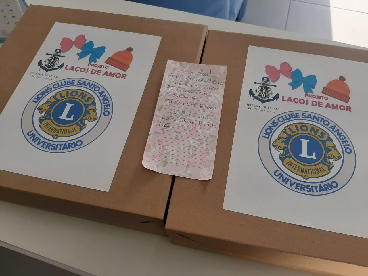 Oncologia do Hospital São Vicente de Paulo (HSVP) de Passo Fundo recebe doação do Lions Club de Santo Ângelo