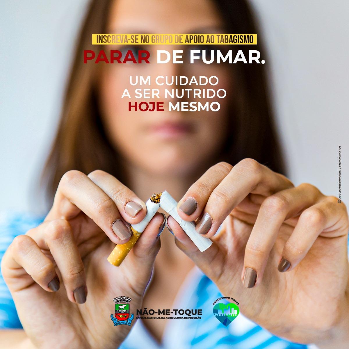 Grupo de apoio ao tabagista terá inscrições abertas dia 21 de junho