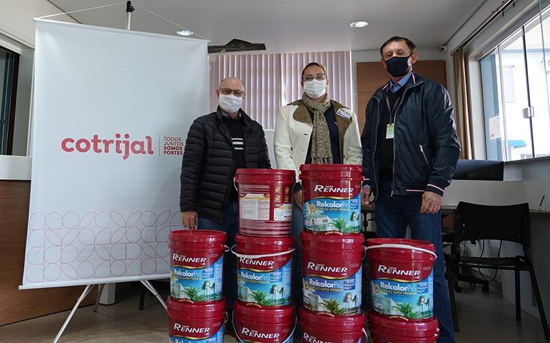 Hospital Alto Jacuí recebe doação da Cotrijal