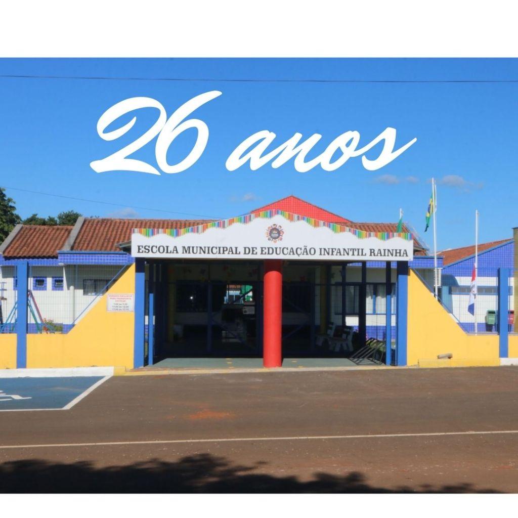 Lagoa dos Três Cantos: EMEI Rainha completa 26 anos a serviço da Educação Infantil