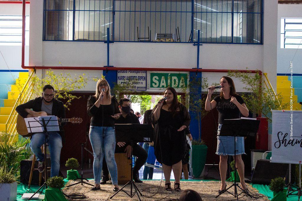 Grupo SHAMMAH representa Não-Me-Toque na final do Festival Garganta de Ouro de Sarandi