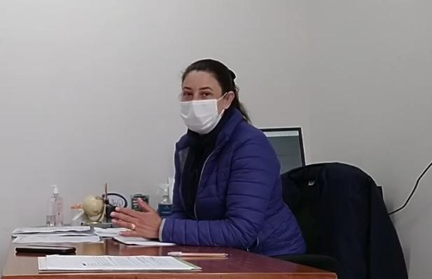 Secretaria de Saúde observa o comportamento da pandemia em Não-Me-Toque