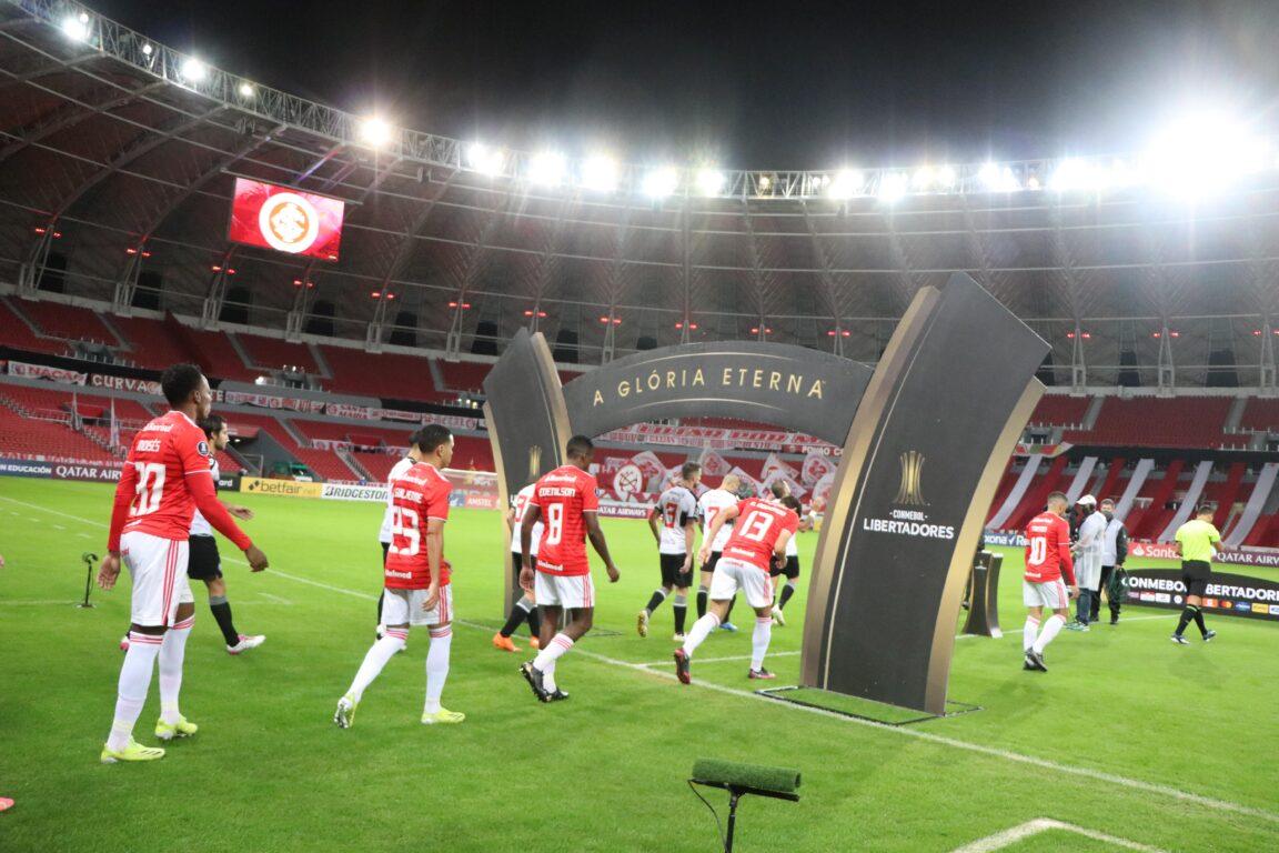 Inter enfrenta Olimpia-PAR nas oitavas da Libertadores