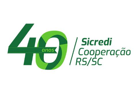 Sicredi Cooperação RS/SC comemora 40 anos de história