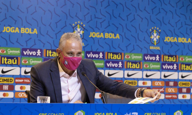Técnico Tite convoca seleção brasileira para a Copa América