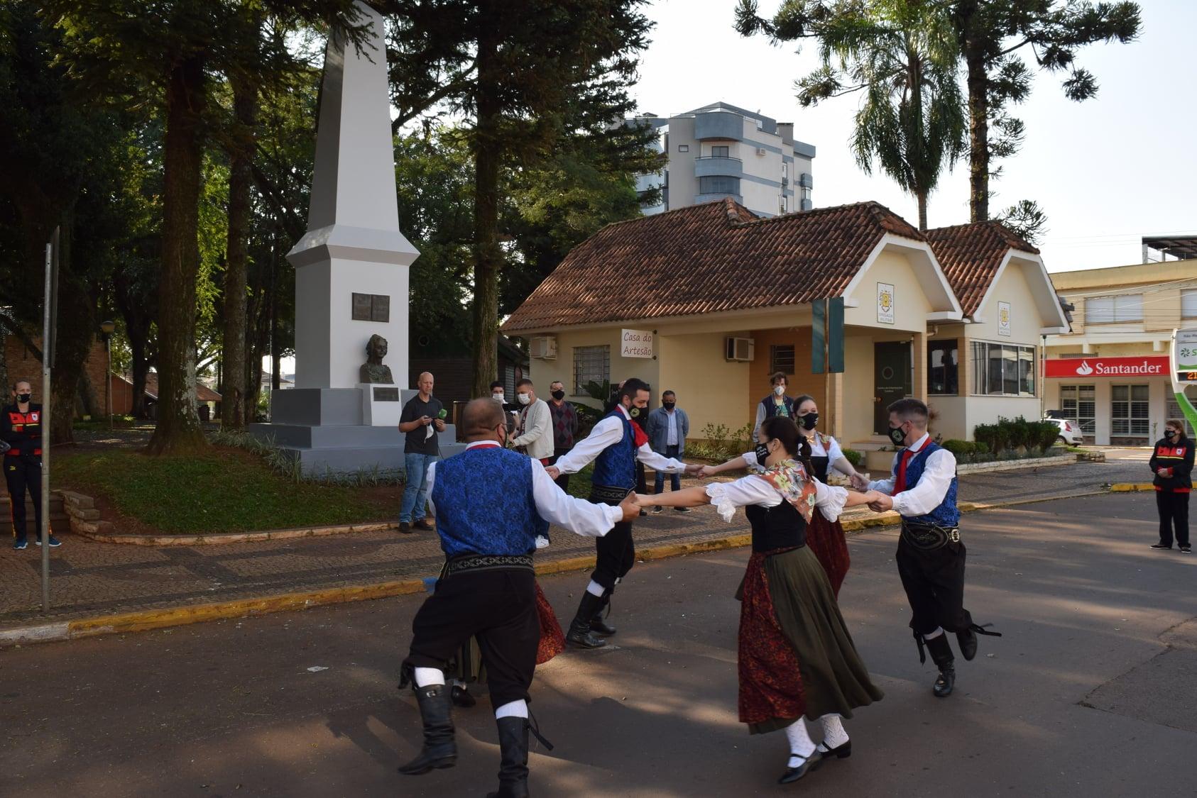 NMT celebrou 197 anos de imigração alemã no Brasil no domingo, dia 25