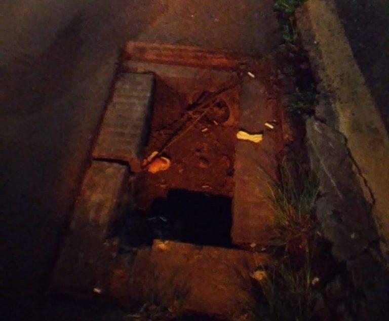 Ciclista morre após cair em bueiro aberto em Carazinho