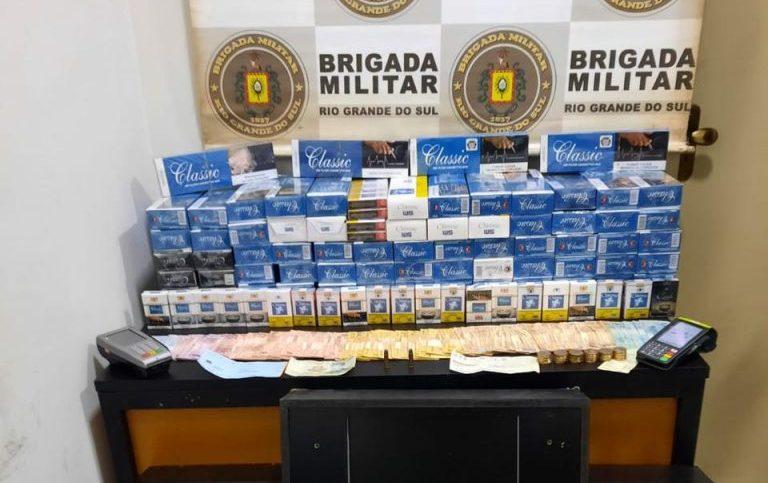 Homem é preso por jogos de azar e posse irregular de munições em Passo Fundo