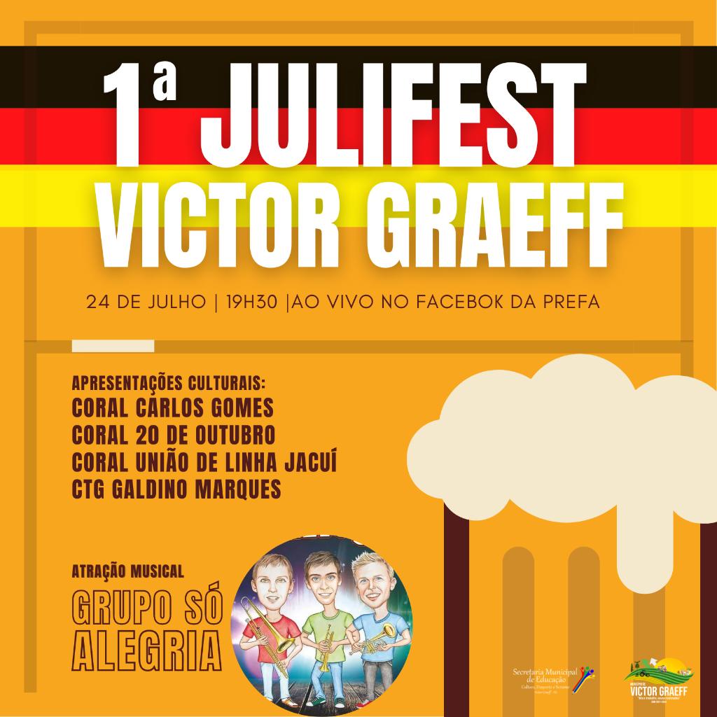 1ª JuliFest acontecerá em Victor Graeff