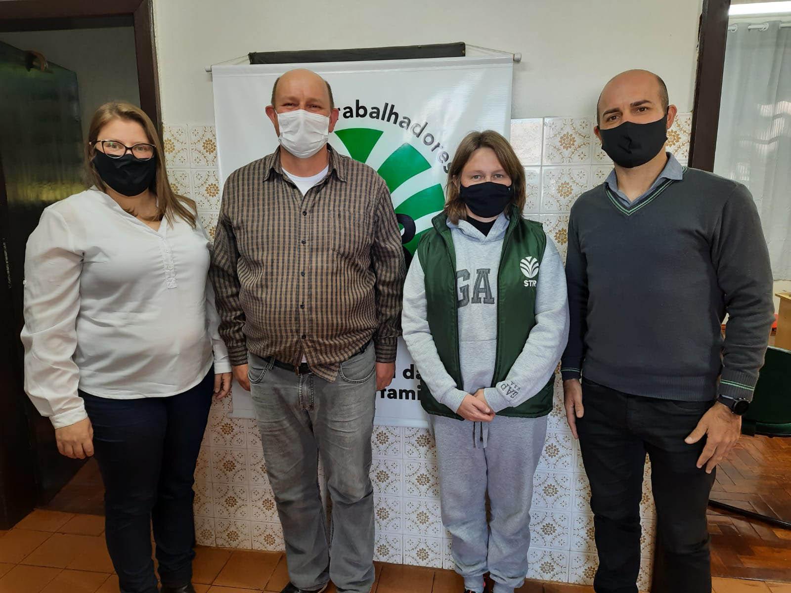 Sicredi Cooperação RS/SC reforça parceria com Sindicatos dos Trabalhadores Rurais