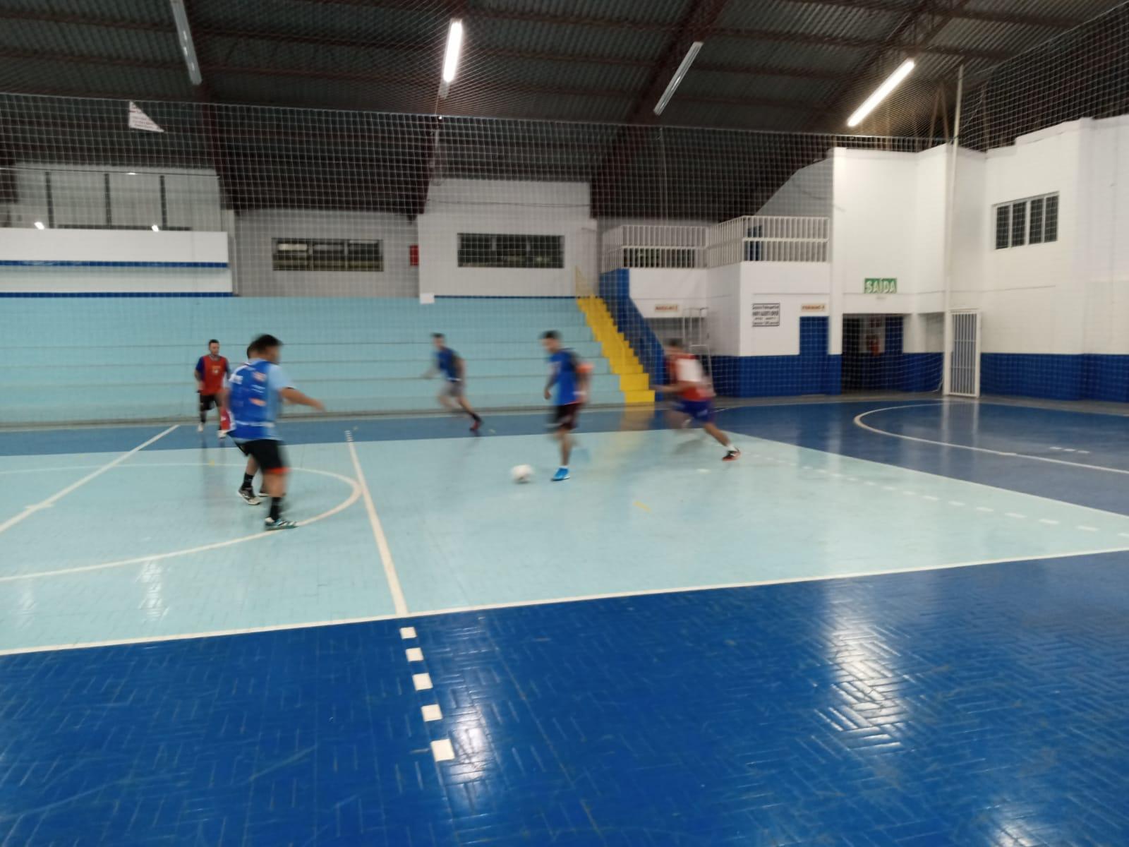 União Santo Antônio treina para o Campeonato Regional de Futsal