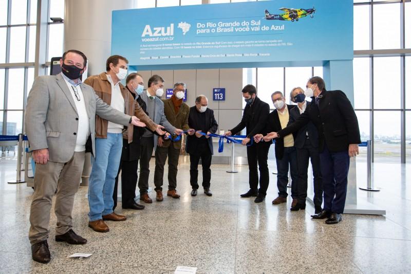 Com estreia de oito voos, RS passa a ser o Estado mais conectado por rotas regionais