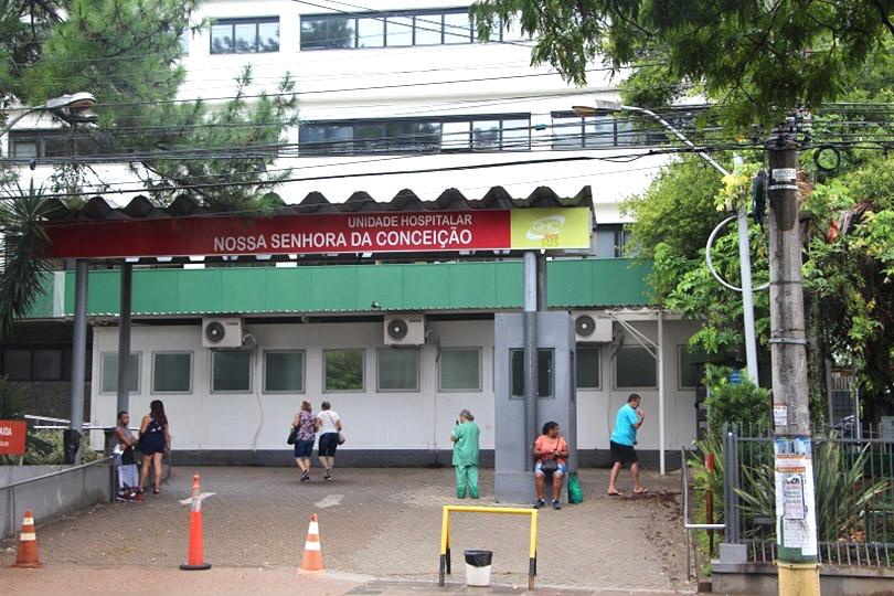 Hospital Conceição em Porto Alegre tem novos casos de Covid e total de infectados sobe para 110