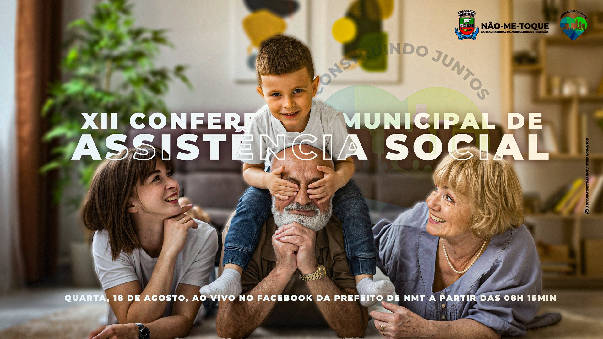 XII Conferência Municipal de Assistência Social será amanhã, saiba como participar