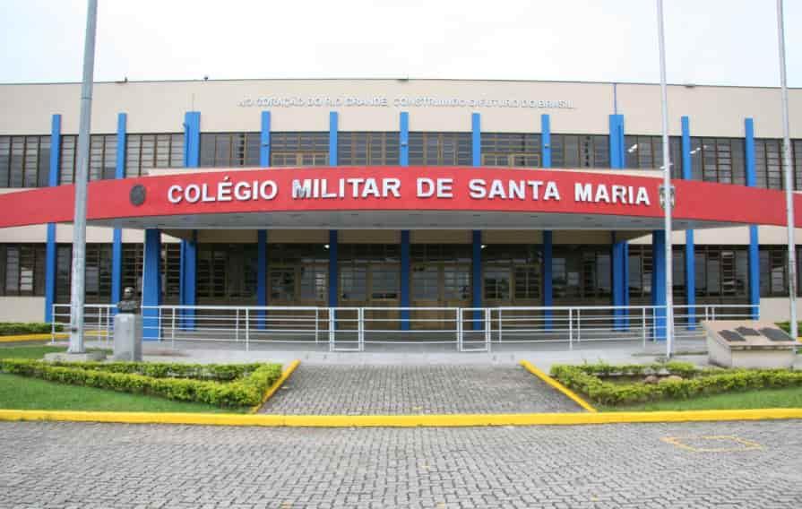 Inscrições para entrar no Colégio Militar de Santa Maria irão abrir dia 18 de agosto