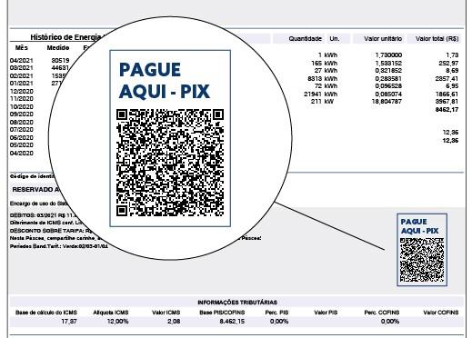 Coprel disponibiliza pagamento de fatura de energia via PIX e por meio de QRCode